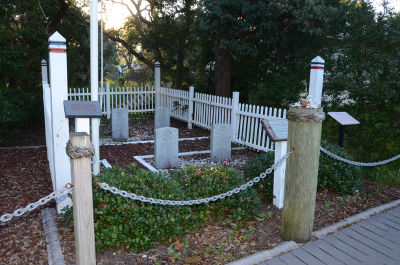 British Cemetery On Ocracoke Island