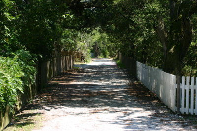 Howard Street On Ocracoke Island