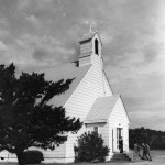 Ocracoke United Methodist Church circa, 1960s