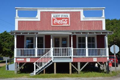 Albert Styrons Store on Ocracoke Island