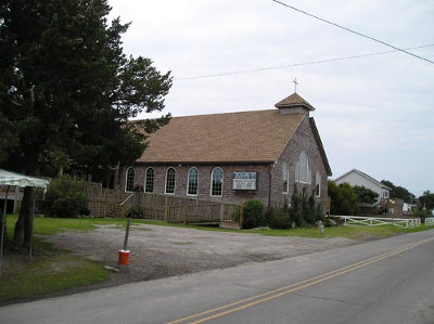 Current Assembly of God Church on Ocracoke Island - 2000s