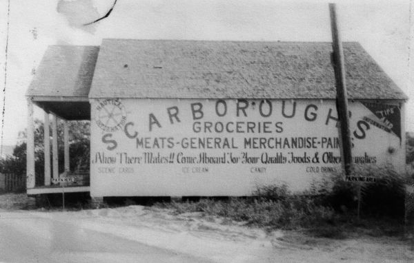 Scarborough's Groceries circa 1950s