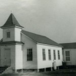 Original Assembly Of God Church On Ocracoke Island - 1950s