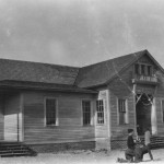 Old Ocracoke School circa 1930s