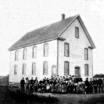 The Odd Fellows Lodge was used as a schoolhouse - early 1900s