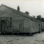 Ocracoke Post Office when it was located in Big Ike's Store