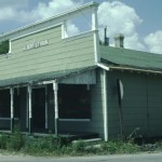 A Dilapidated Albert Styron's Store On Ocracoke Island - 1970s
