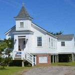 Original Assembly of God Church As A Rental Cottage On Ocracoke Island - 2014