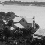 Captain Bill Thomas House From Ocracoke Lighthouse - 1930s