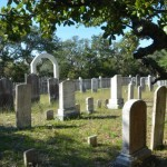 Howard Cemetery On Ocracoke Island From Back - 2014