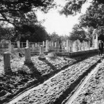 Howard Cemetery On Sandy Lane On Ocracoke Island - 1960s