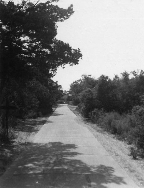 Ammunition Dump Road circa 1950s