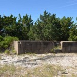 Loop Shack Hill Foundation Remains On Ocracoke Island