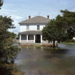 David Williams House On Ocracoke Island After Storm- 1974