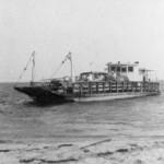 Frazier Peele's Ferry To Ocracoke Island - 1950s