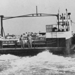 Early State Run Ferry To Ocracoke Island - 1960s