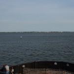 Approaching Ocracoke Island From Swan Quarter
