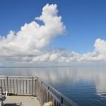 Approaching Cedar Island Leaving Ocracoke