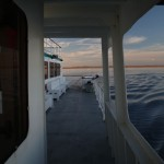 "Leaving Swan Quarter on ""Pamlico"" Headed To Ocracoke Island"