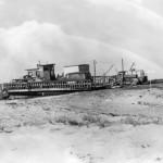 Loading Early Ferry To Ocracoke Island - 1950s