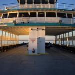 Ferry To Ocracoke Island In The Winter
