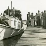 Mail boat Aleta at the dock