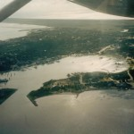 Silver Lake from the air circa 1980s