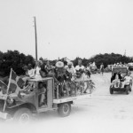 July 4th parade circa 1950s