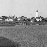 Silver Lake circa 1930s (close up of gut bridge)