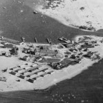 Ocracoke Naval Base from the air