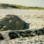 Sand sculptures - 1989