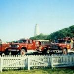 Fire trucks circa 1980s
