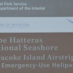 Ocracoke Island Airport Sign