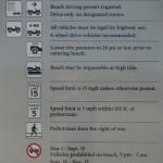 Beach Driving Rules