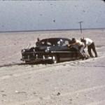 Off Road Driving On Ocracoke Island - 1956