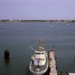 Silver Lake from Coast Guard tower circa 1960s