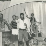 "Blackbeard Preparing For Battle In ""A Tale Of Blackbeard"" On Ocracoke Island - 1982"