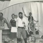 """Blackbeard Preparing For Battle In """"A Tale Of Blackbeard"""" On Ocracoke Island - 1982"""
