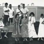 """Euphemia's Girls Singing In """"A Tale Of Blackbeard"""" On Ocracoke Island - 1987"""