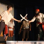 "Blackbeard Fights In ""A Tale Of Blackbeard"" On Ocracoke Island - 2015"