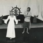 """Elizabeth Singing """"Mama Never Told Me 'Bout Sailors"""" in """"A Tale Of Blackbeard"""" On Ocracoke Island - 1987"""
