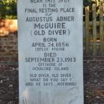 Old Diver Marker Ocracoke Island