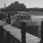 Berkley Castle On Ocracoke Island From Dock - 1970s