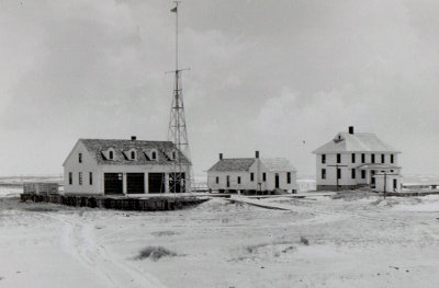 Cedar Hammock Coast Guard Station On Ocracoke Island