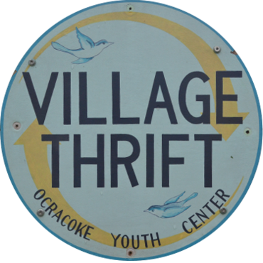 Village Thrift On Ocracoke Sign