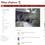 Village Craftsmen Webpage Screenshot